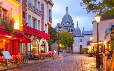5 spots in Paris